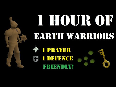 1 Hour of Earth Warriors as a Pure (Wilderness Slayer) [85 Ranged]