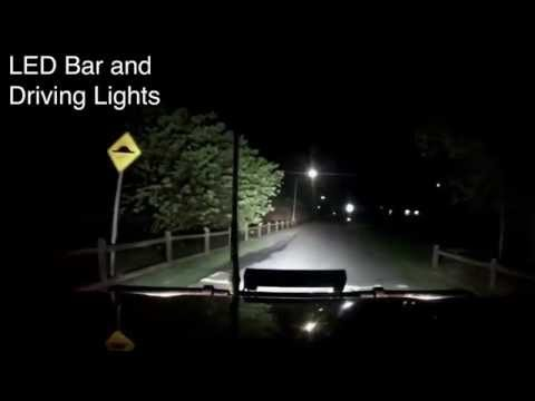 Xtreme offroad accessories 20 inch light bar road test youtube mozeypictures Image collections