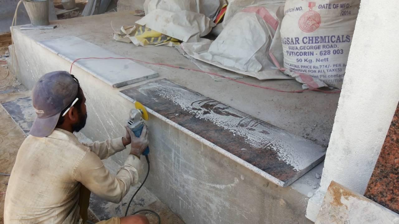 Granite molding and polishing