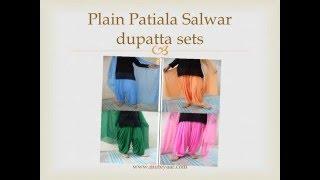 Latest trends of patiala salwars
