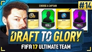 BEST DRAFT REWARD EVER!! - #FIFA17 DRAFT TO GLORY #14