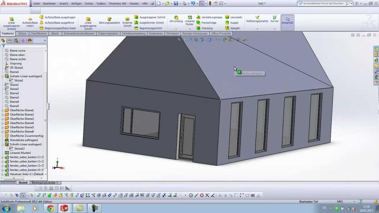 Solidworks Parametrische Architektur Parametric