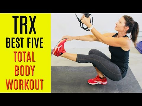 TOTAL BODY TRX WORKOUT #11 - MY FIVE FAVES PLUS WARMUP