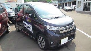 2013 New Mitsubishi eK custom - Exterior & Interior