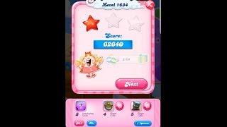 Candy Crush Saga Level 1634