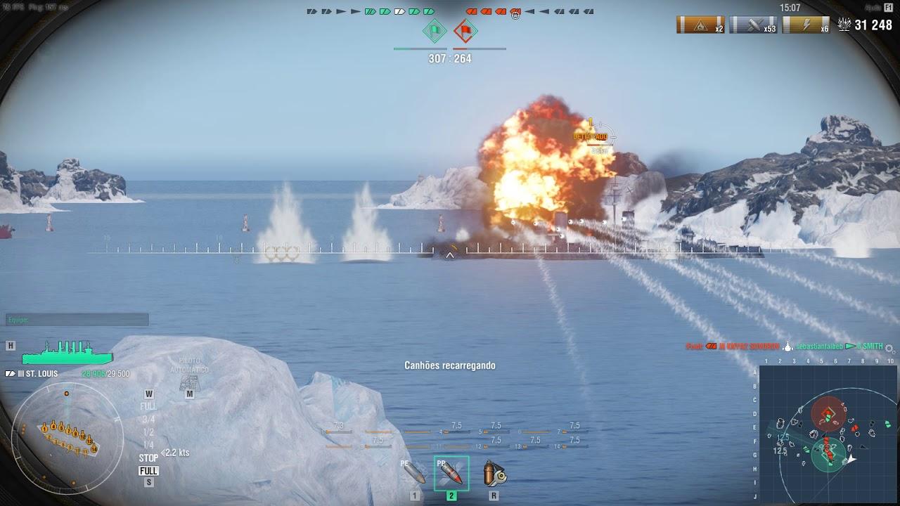 Gameplay World of Warships