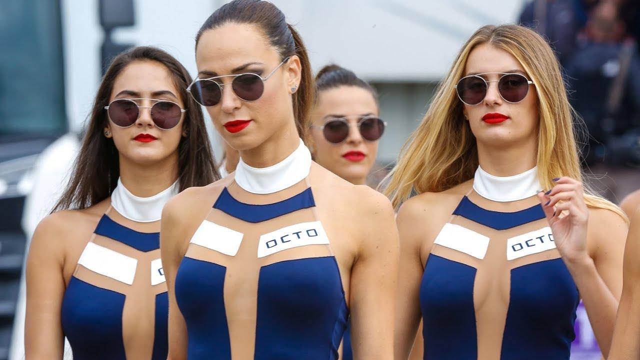 The Paddock Girls Of The Britishgp