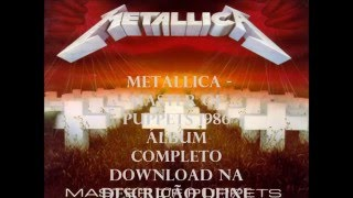 Metallica - Master of Puppets (1986) Álbum completo!! Download
