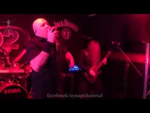 "Synaptik ""As I Am, As I Was"" Live 31 1 2014 B2, Norwich - first time played live - melodic metal"