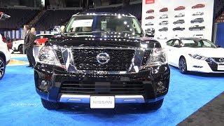 2018 Nissan Armada Platinum 4WD - Exterior And Interior Walkaround-Albany Auto Show 2017