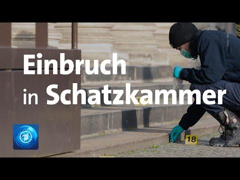 """Dresden: Einbruch in das """"Grüne Gewölbe"""""""