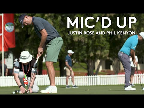 Mic'd Up | Justin Rose and putting coach Phil Kenyon | 2021 Abu Dhabi HSBC Championship