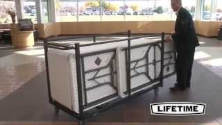 Lifetime Table Cart - 80193 Folding Table Storage Truck