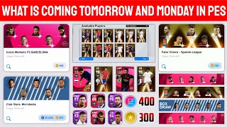 WHAT IS COMING TOMORROW AND MONDAY IN PES 2021 MOBILE || CONFIRMED REWARD AND EVENTS FULL DETAILS