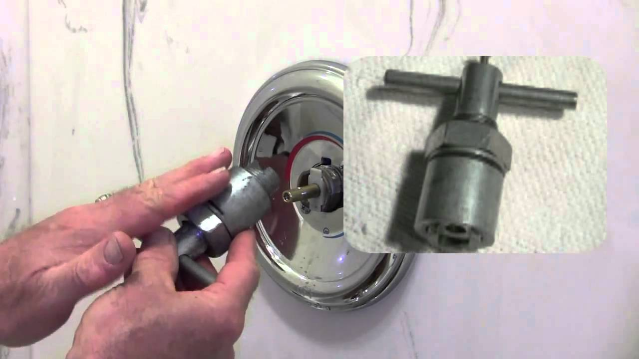 one piece shower faucet.  How to Repair a Moen Shower Tub valve YouTube