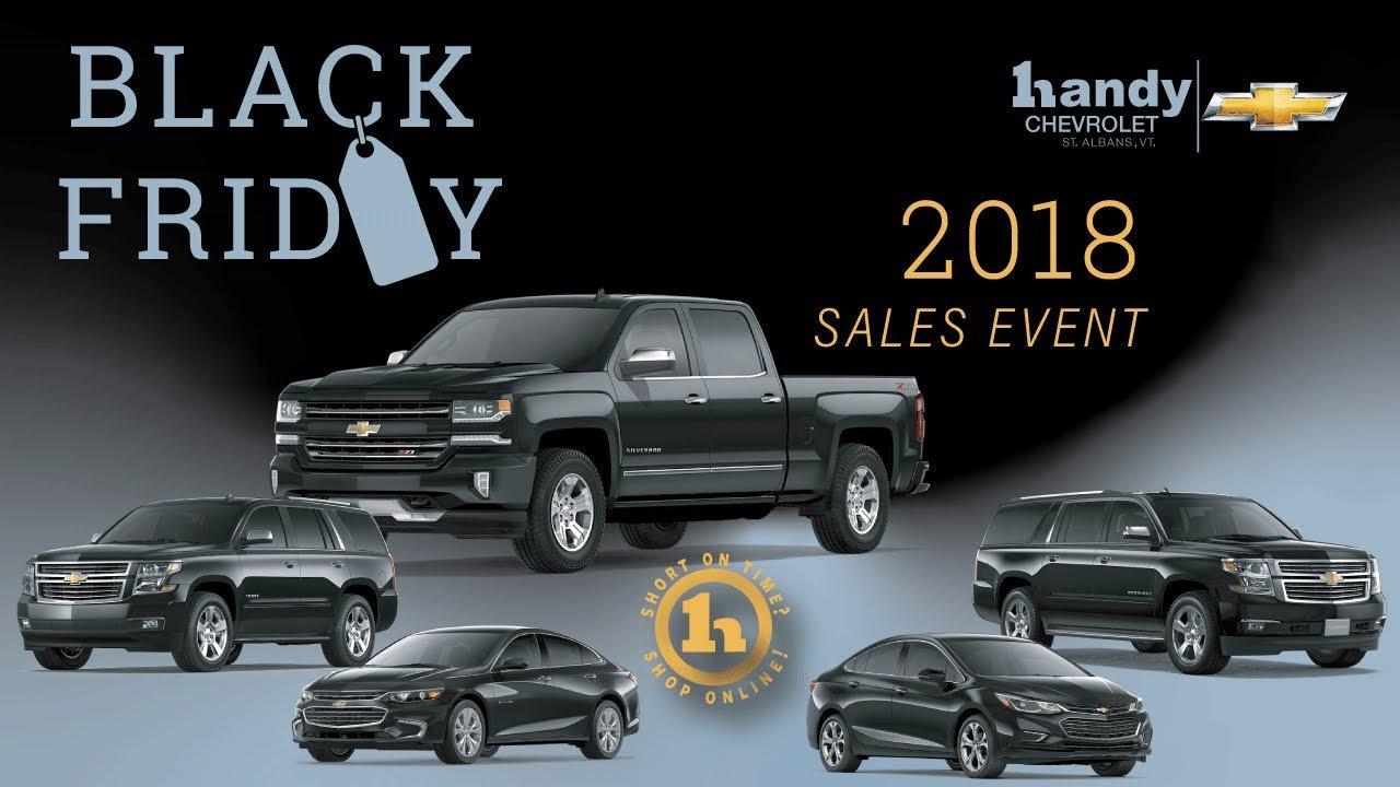 Handy Chevrolet Black Friday Sales Event Youtube