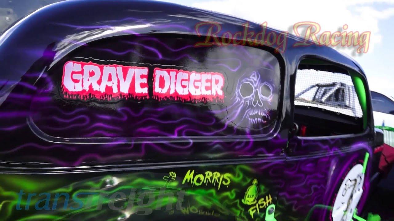 Grave Digger Tribute Legend Car Rockdog Racing Videos Youtube