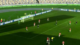 PES 2013 Custom Camera Patched with PESJP (Jenkey) Patch v3.09 & Game Play Tool 3.35