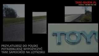 Tania wypożyczalnia wynajem samochodów Wrocław lotnisko