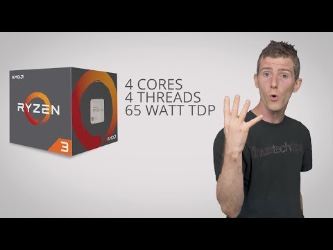 AMD Ryzen 3, 5, and 7 Explained