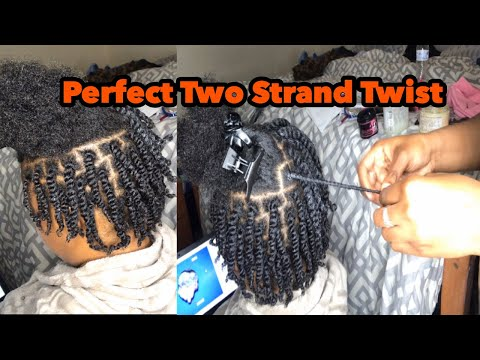 perfect-two-strand-twist-on-short-natural-hair-|-4b/-4a