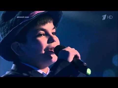 Марсель Сабиров - Вернисть в Сорренто | Голос Дети 3 2016 Экстра