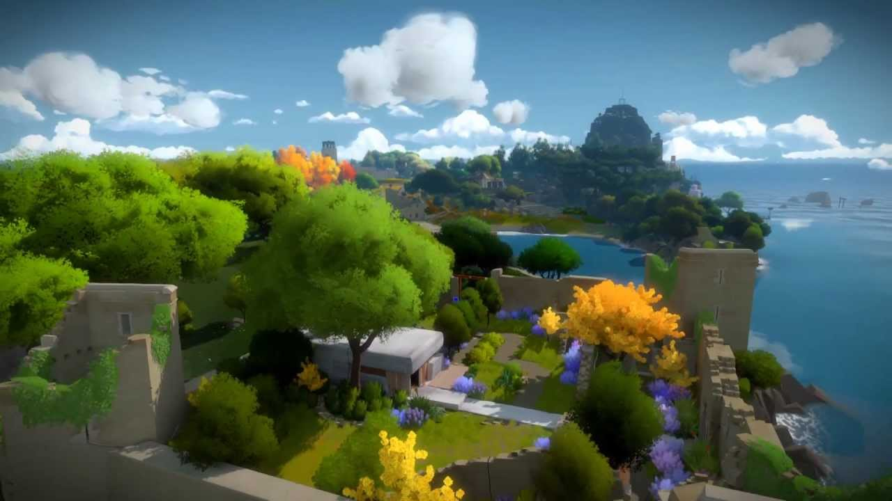 The Witness (PS4) .