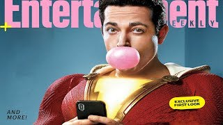 NEW SHAZAM LOOK AND NEW DC DIRECTION FOR FUTURE MOVIES