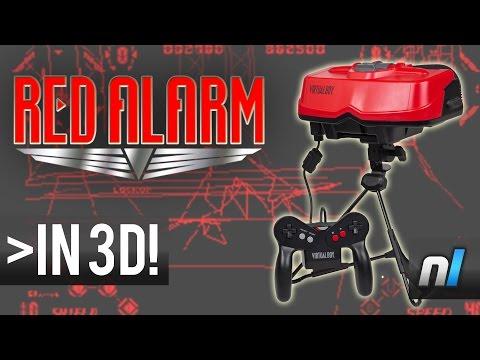 Red Alarm (Virtual Boy) - Watch in 3D!