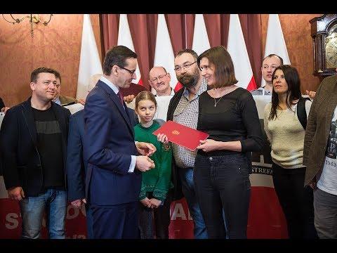 Mateusz Morawiecki przekazał list uczestnikom VI Wielkiego Wyjazdu na Węgry