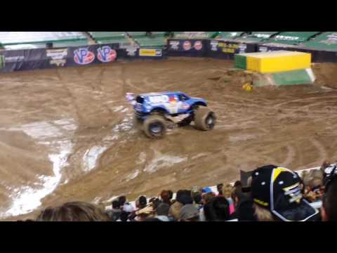Monster Jam World Finals XVIII 2017 Freestyle Champion Las Vegas MAD Scientist 17