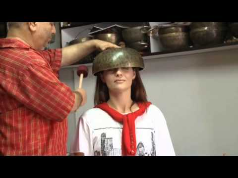NEPAL - Singing Bowl Interview and Demonstration with Sudeep Lamsal