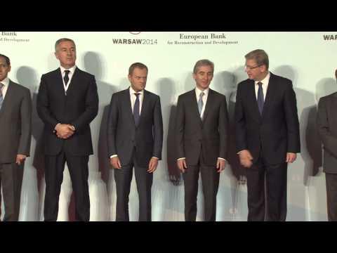 EBRD Annual Meeting 2014 Group Photo