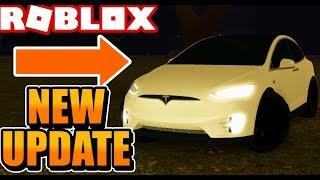 MISE À JOUR HALLOWEEN! [Tesla Model X, Model S, - Plus] (Roblox Vehicle Simulator) #24