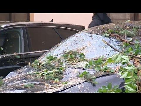 euronews (deutsch): Tennisballgroße Hagelkörner: 2 Tote und Bilder der Verwüstung