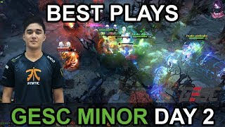 Video GESC Indonesia Minor 2018  BEST PLAYS Day 2 Highlights by Time 2 Dota #dota2 download MP3, 3GP, MP4, WEBM, AVI, FLV Maret 2018