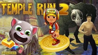 Talking Tom Gold Run Vs Temple Run 2 Vs Subway Surfers