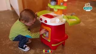 Bucătărie de jucărie Cooky Smoby cu aparat de cafe