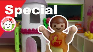Playmobil Film deutsch Annas neues Kinderzimmer / Spielzeug Deko für Kinder - Familie Hauser