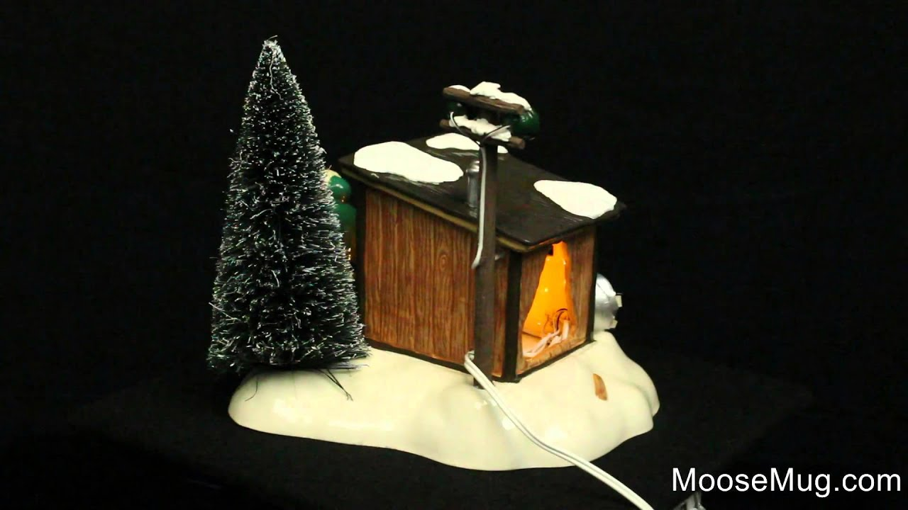 Department 56 Christmas Vacation Snow Village Griswold Sled Shack ...