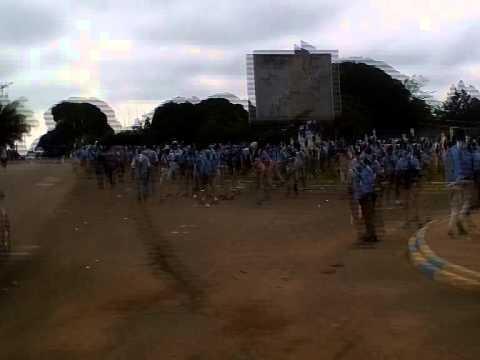 Emeutes au lycée technique Omar Bongo de Libreville