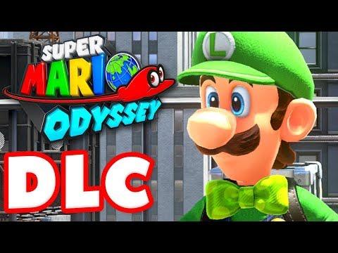 Super Mario Odyssey - Gameplay Walkthrough Part 37 - Luigi's Balloon World DLC! (Nintendo Switch)