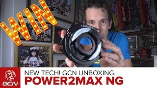 NEW Tech! Unboxing The power2max NG Powermeter | Win With GCN!