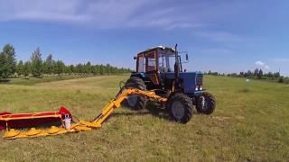видео Косилка навесная К-78М