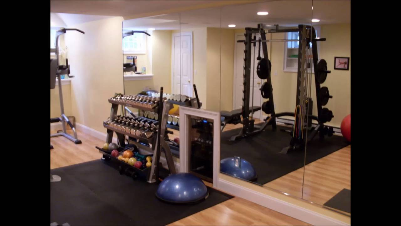 Home gym ideas simple youtube