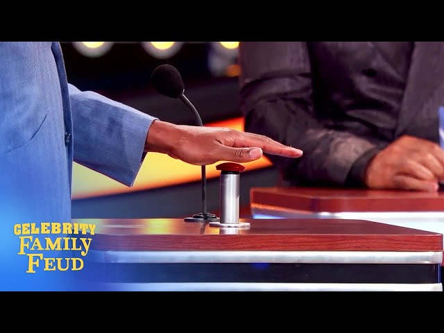 Hey, hands off, Chris Bosh! | Celebrity Family Feud