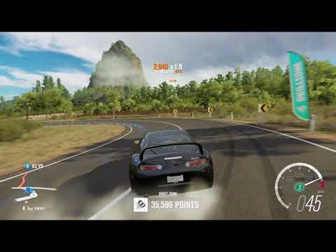 Forza Horizon 3- Getting 3 Stars in Mountain View Drift Zone