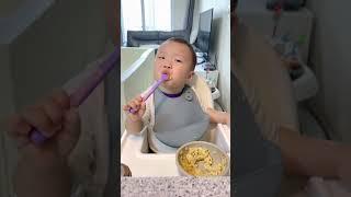12개월 아기의 자기주도이유식_아기카레