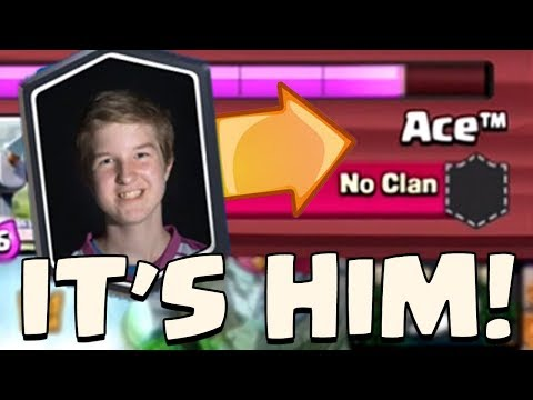 0.01% CHANCE OF THIS HAPPENING IN CLASH ROYALE.. Found my Kings Cup 2 Teammate