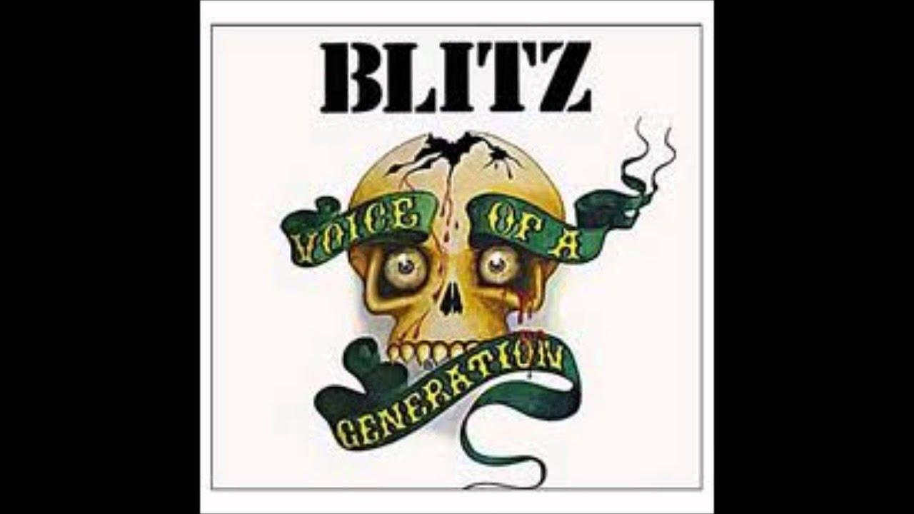 Blitz voice of a generation lyrics